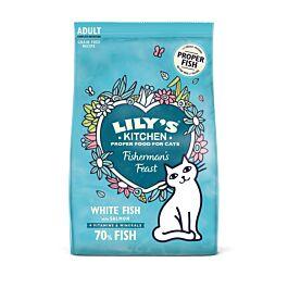 Lily's Kitchen Trockenfutter für Katzen Fabulous Fisch 800g