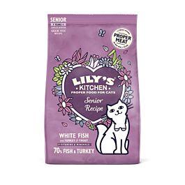 Lily's Kitchen Trockenfutter für Katzen Recipe Fisch & Truthahn 800g
