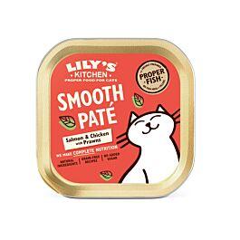 Lily's Kitchen Nassfutter für Katzen Catch of the Day Lachs 19x85g