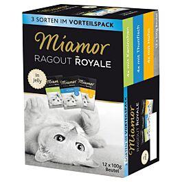 Miamor Katzenfutter Ragout Royale MuliMix Box assortiert