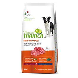 Trainer Hundefutter Natural Medium Adult Rind & Reis