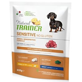 Trainer Hundefutter Sensitive No Gluten Small & Toy Adult Lamb