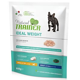 Trainer Hundefutter Ideal Weight Small & Toy White Meat