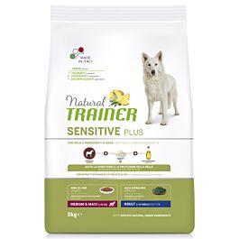 Trainer Hundefutter Sensitive Plus Medium & Maxi Adult Pferd