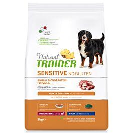 Trainer Hundefutter Sensitive No Gluten Medium & Maxi Adult Ente