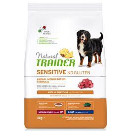 Trainer Hundefutter Sensitive No Gluten Medium & Maxi Adult Lamb