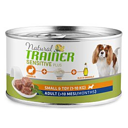 Trainer Hundefutter Sensitive Plus Small & Toy Adult Kaninchen