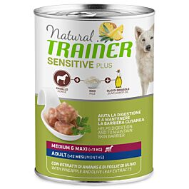 Trainer Hundefutter Sensitive No Gluten Medium & Maxi Adult Schwein