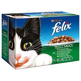 Felix Nourriture pour chats Émincés en Sauce