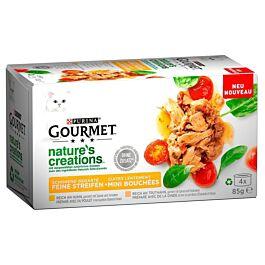 Gourmet Katzenfutter Natures Creation Fleisch