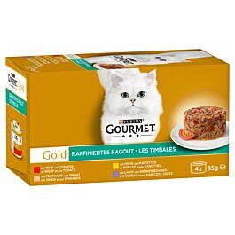Gourmet Gold Raffiniertes Ragout mit Gemüse
