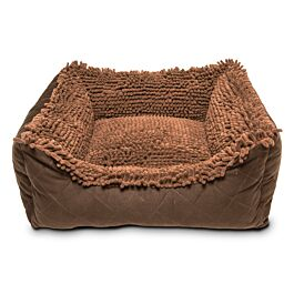 Dog Gone Smart Lit pour chiens Dirty Dog Lounger Bed Brown différentes tailles