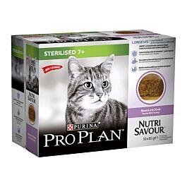 Pro Plan Cat Katzenfutter Sterilised 7+ Truthahn