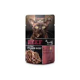 Leonardo Nassfutter verschiedene Sorten mit pulled Beef 70g im Beutel
