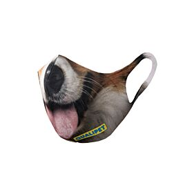 QUALIPET Masque hygiénique Dog avec motif chien
