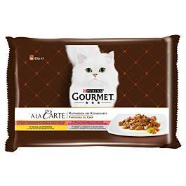 Gourmet a la Carte Katzenfutter Raffinessen des Küchenchefs Multipack