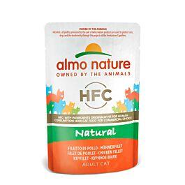Almo Nature Katzenfutter HFC Natural Beutel 55g in diversen Sorten