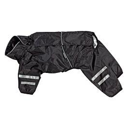 Freezack Hunderegenmantel Raincoat schwarz verschiedene Grössen
