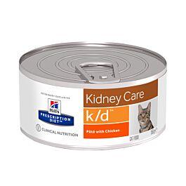 Hill's VET Katze Prescription Diet k/d Renal Health feingehackt mit Huhn