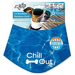 All for Paws Chill Out Bandana kühlendes Halstuch für Hunde
