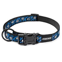 Freezack Alba reflektierend blue paw Halsband