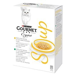 Gourmet Soupe pour chats Crystal Soup