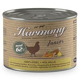 Harmony Dog Natural Nassfutter Junior Geflügel & Süsskartoffel