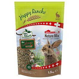 Happy Rancho Swiss Nature Mix Nourriture pour lapin