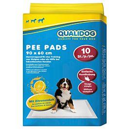 QUALIDOG Puppy Pee Pads Zitrone