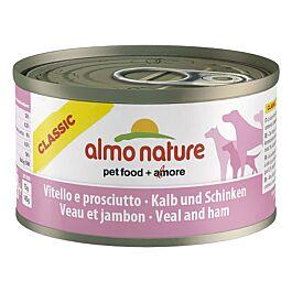 Almo Nature Hundefutter HFC Classic Adult Kalb & Schinken