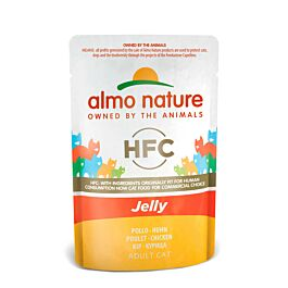 Almo Nature Katzenfutter HFC Adult Jelly in 24x55g Beutel
