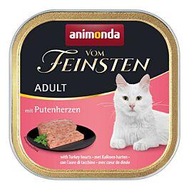 animonda Katzenfutter Vom Feinsten Adult mit Putenherzen