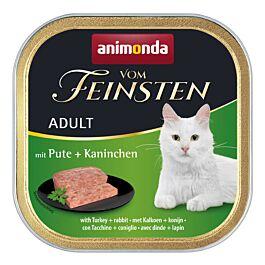 animonda Katzenfutter Vom Feinsten Adult mit Pute & Kaninchen
