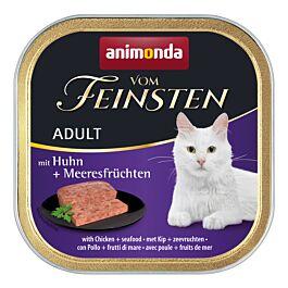 animonda Katzenfutter Vom Feinsten Adult Huhn & Meeresfrüchte