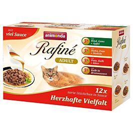 animonda Rafiné Soupé ADULT in Sauce 12er Multipack assortiert
