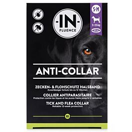 In-Fluence Collier antiparasitaire pour chiens