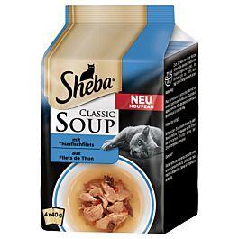 Sheba Classic Soup Katzensnack Thunfisch