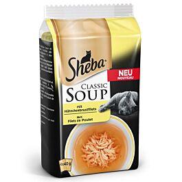 Sheba Classic Soup mit Hühnchenbrustfilet