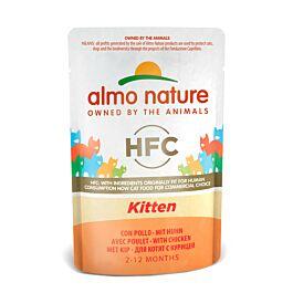 Almo Nature Nassfutter HFC Kitten Huhn