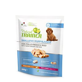 Trainer Hundefutter Natural Small & Toy Puppy & Junior Huhn