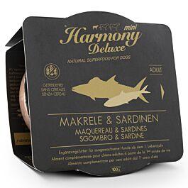 Harmony Dog Deluxe Mini Adult Makrele & Sardinen Nassfutter