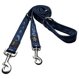 Rogz Alpinist Hundeleine Blau 180cm