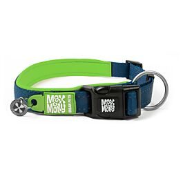 Max & Molly Smart ID Collier pour chiens Matrix Lime Green