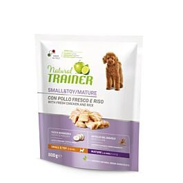Trainer Nourriture pour chiens Natural Small & Toy Maturity poulet