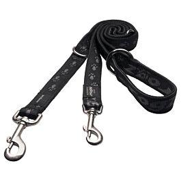 Rogz Alpinist Hundeleine Schwarz 180cm