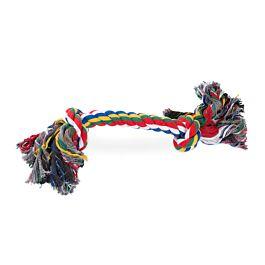 Freezack Hundespielzeug Rope Bone 2Knots MultiColor