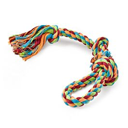 Freezack Hundespielzeug Rope Knot Loop
