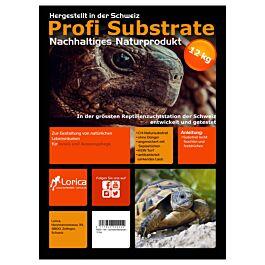 Profi Substrate Terre pour tortue