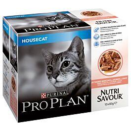 Pro Plan Cat Housecat Lachs in Sauce