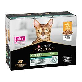 Pro Plan Cat Nutrisavour Sterilised Huhn